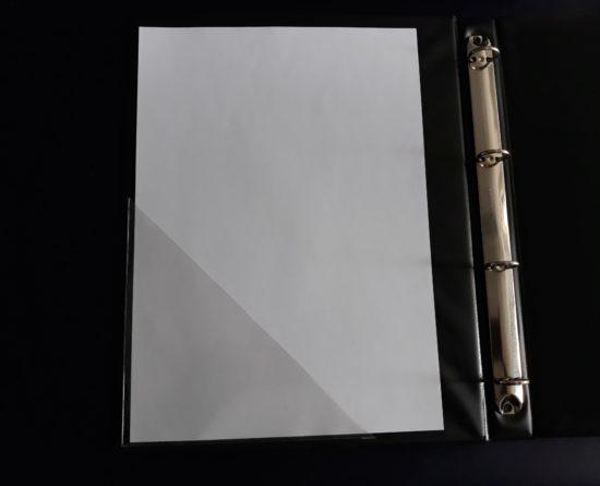 busta adesiva triangolare